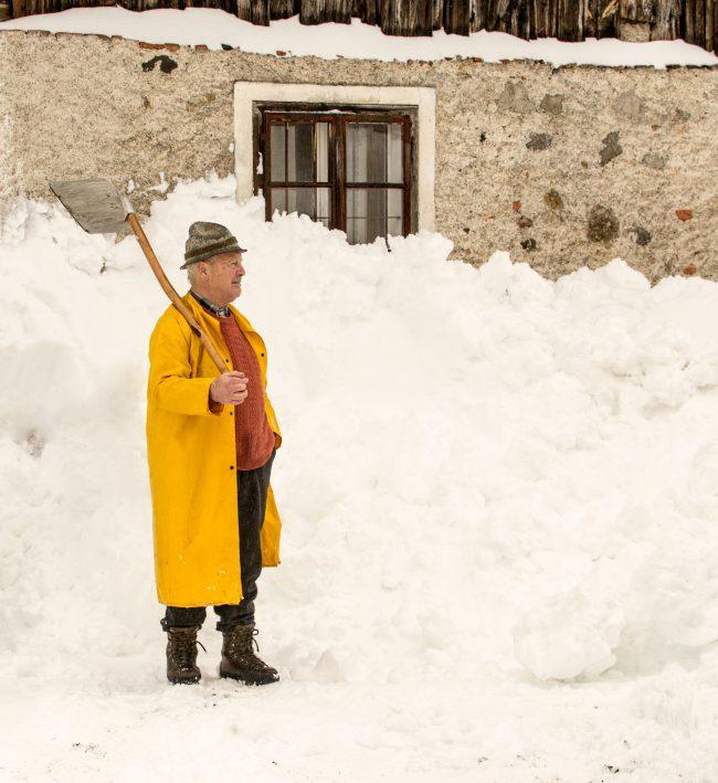 Matteo Coda - Neve e Giallo (Tarvisio)